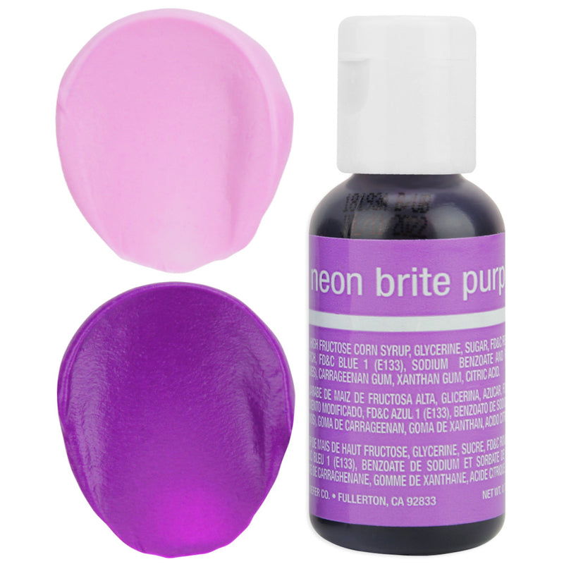 Neon Purple Chefmaster Gel Food Coloring