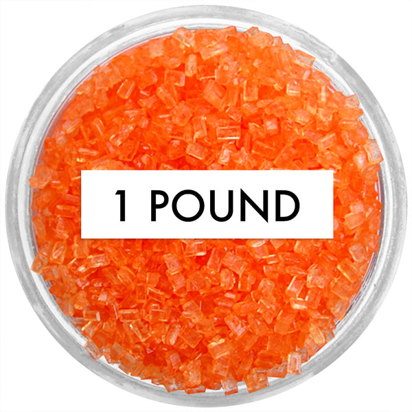 Orange Chunky Sugar 1 LB