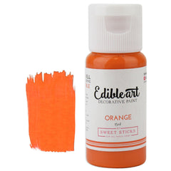 Orange Edible Paint