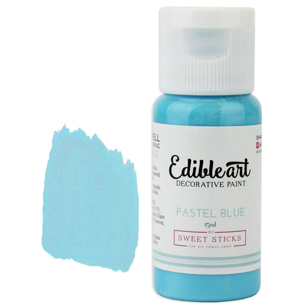 Pastel Blue Edible Paint