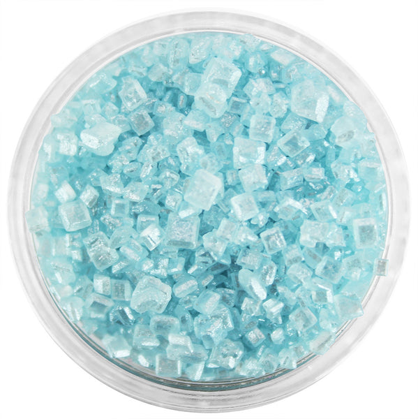 Pearly Light Blue Chunky Sugar