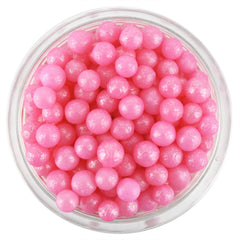 Pearly Pink Sugar Pearls