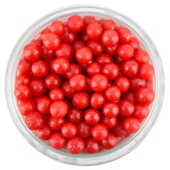 Pearly Red Sugar Pearls