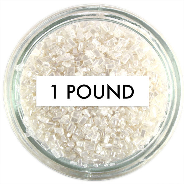 Pearly White Chunky Sugar 1 LB