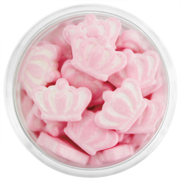 Light Pink Crown Candy Sprinkles