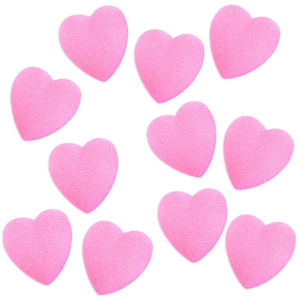 Pink Heart Sugars