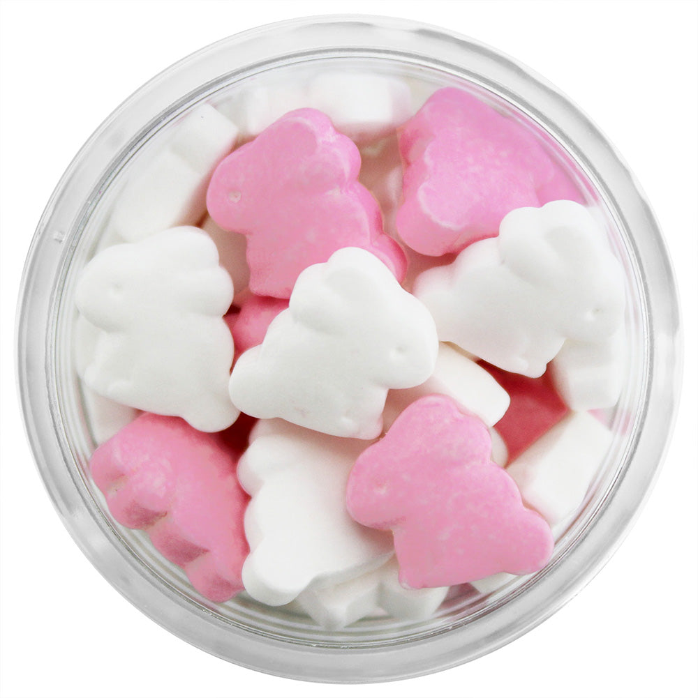 Pink & White Bunny Candy Sprinkles