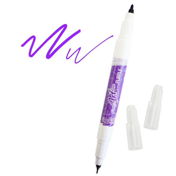 Purple Edible Ink Pen