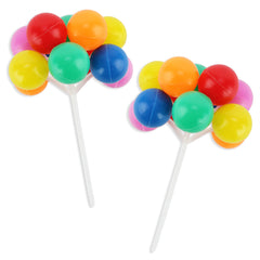 Rainbow Balloon Picks