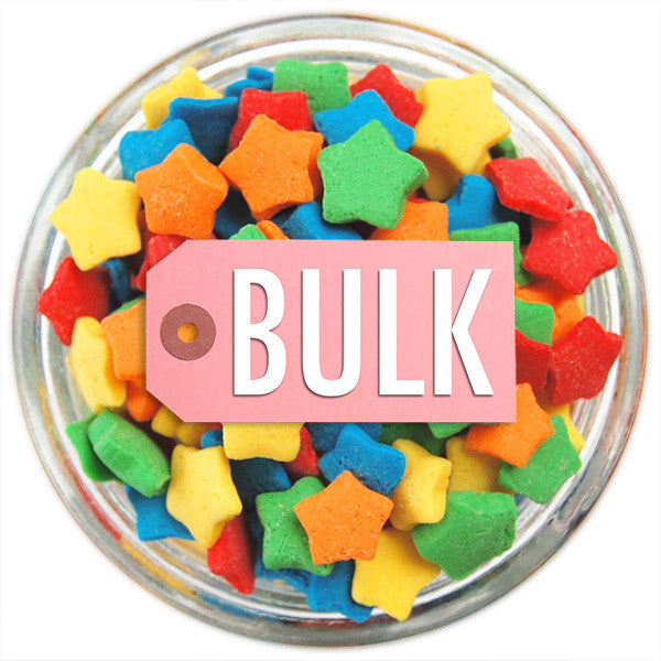 Rainbow Star Sprinkles BULK