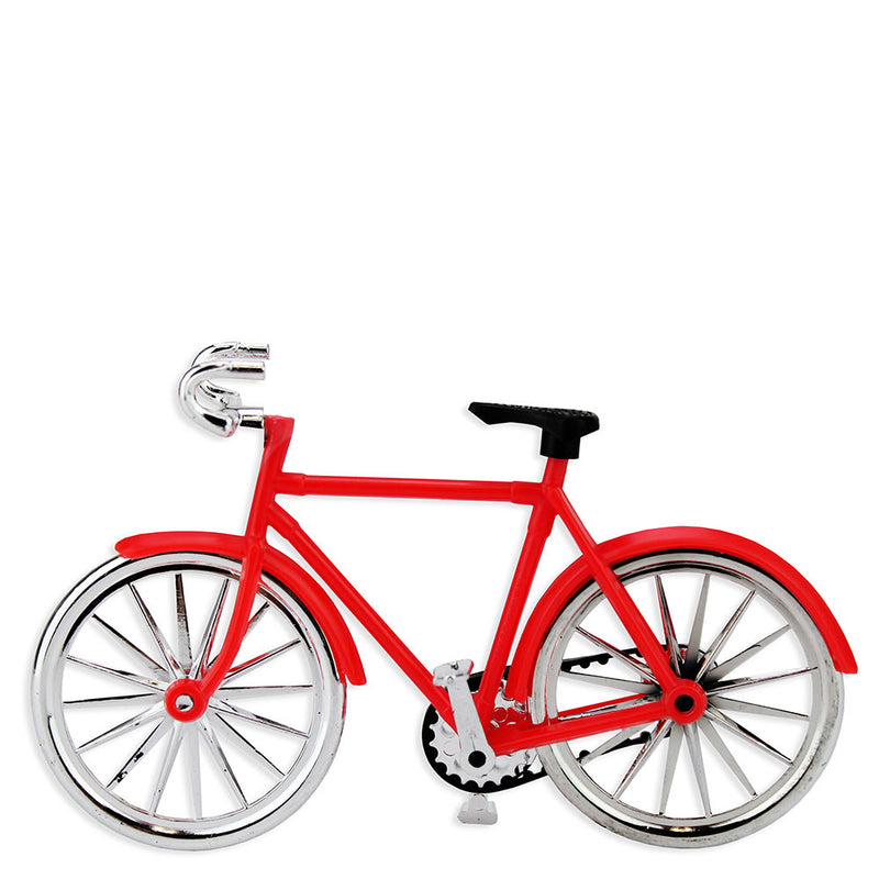 Red Bicycle Cake Topper