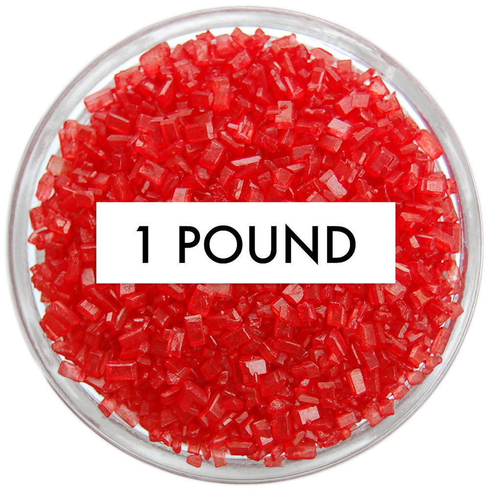 Red Chunky Sugar 1 LB