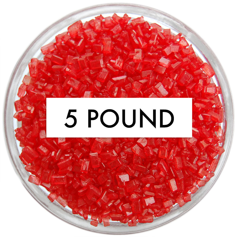 Red Chunky Sugar 5 LB