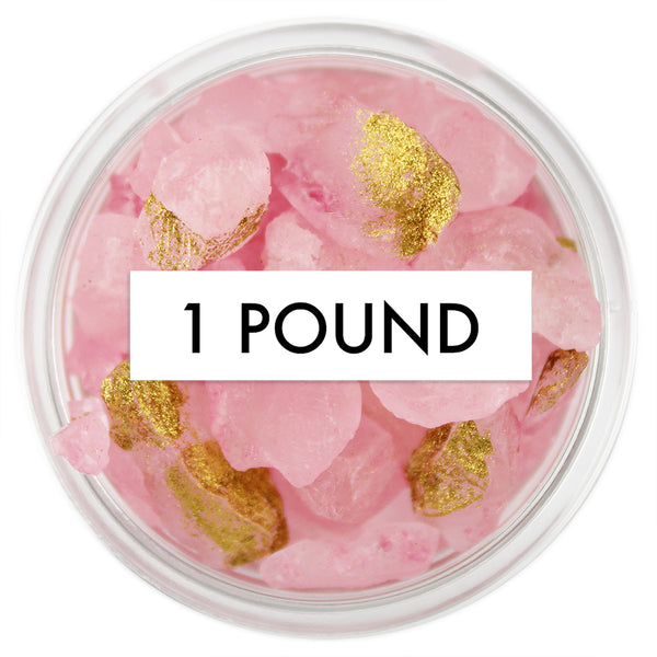 Rose Quartz Gem Sugar 1 LB