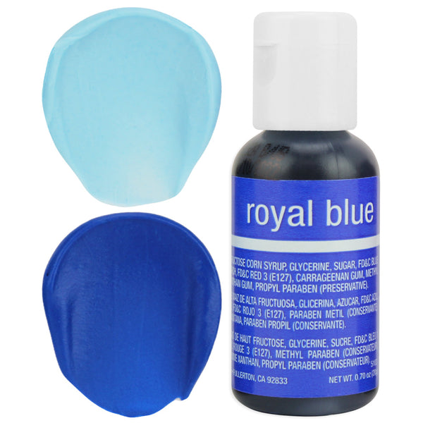 Royal Blue Chefmaster Gel Food Coloring