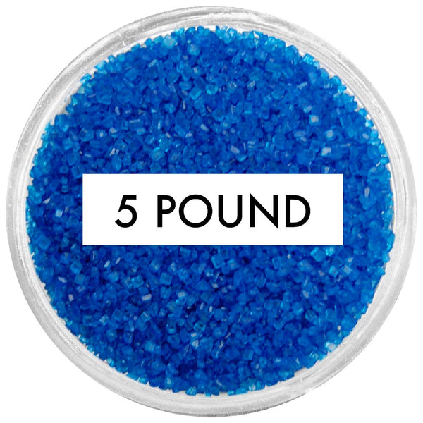 Royal Blue Sanding Sugar 5 LB