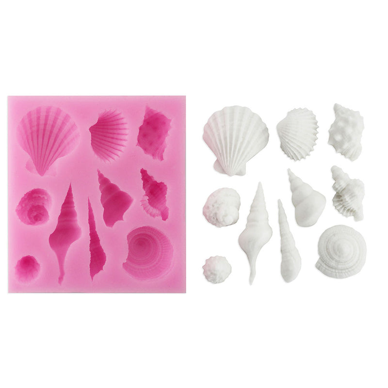 Seashell Silicone Mold
