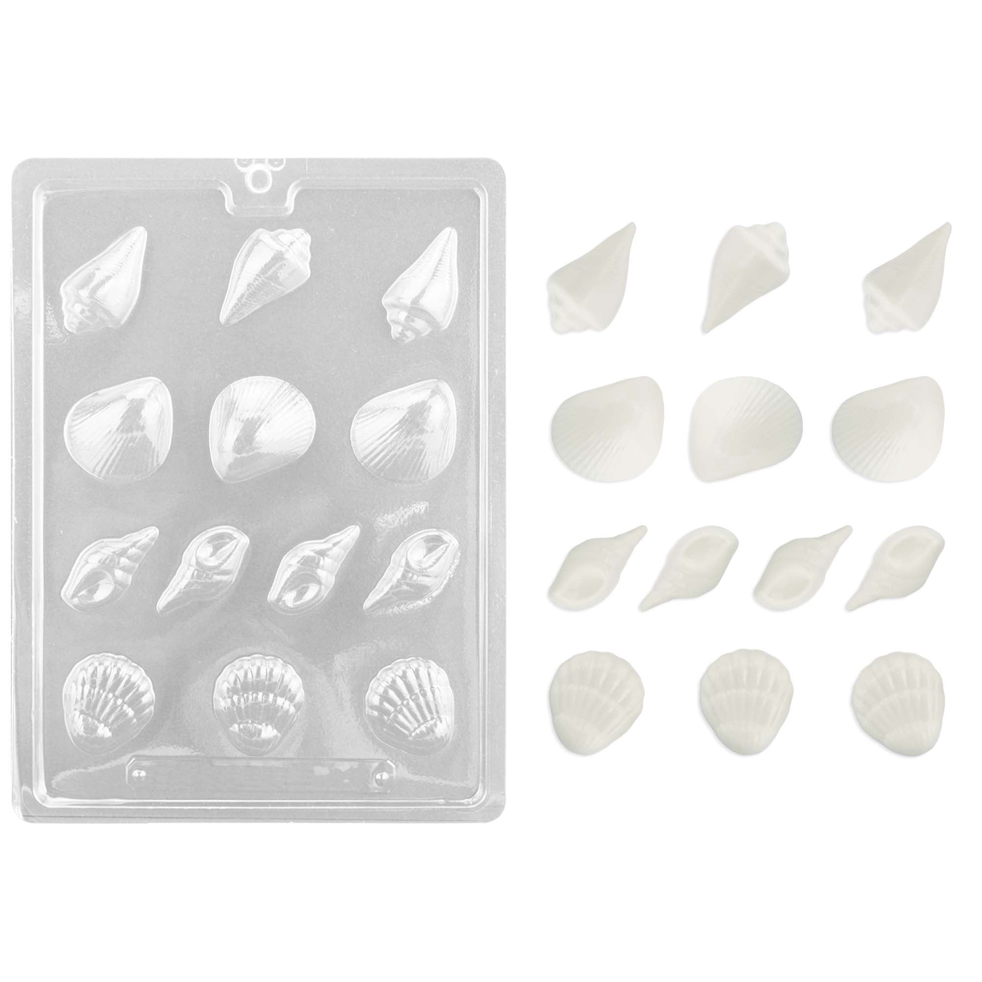Shell Assortment Chocolate Mold