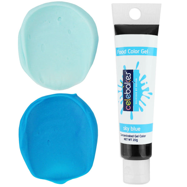 Sky Blue Gel Food Coloring - Celebakes