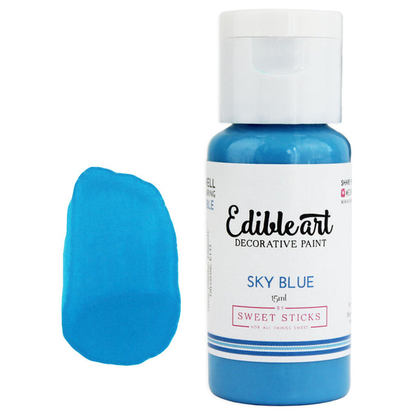 Sky Blue Edible Paint