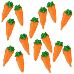 Small Royal Icing Carrots