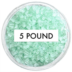 Soft Green Chunky Sugar 5 LB