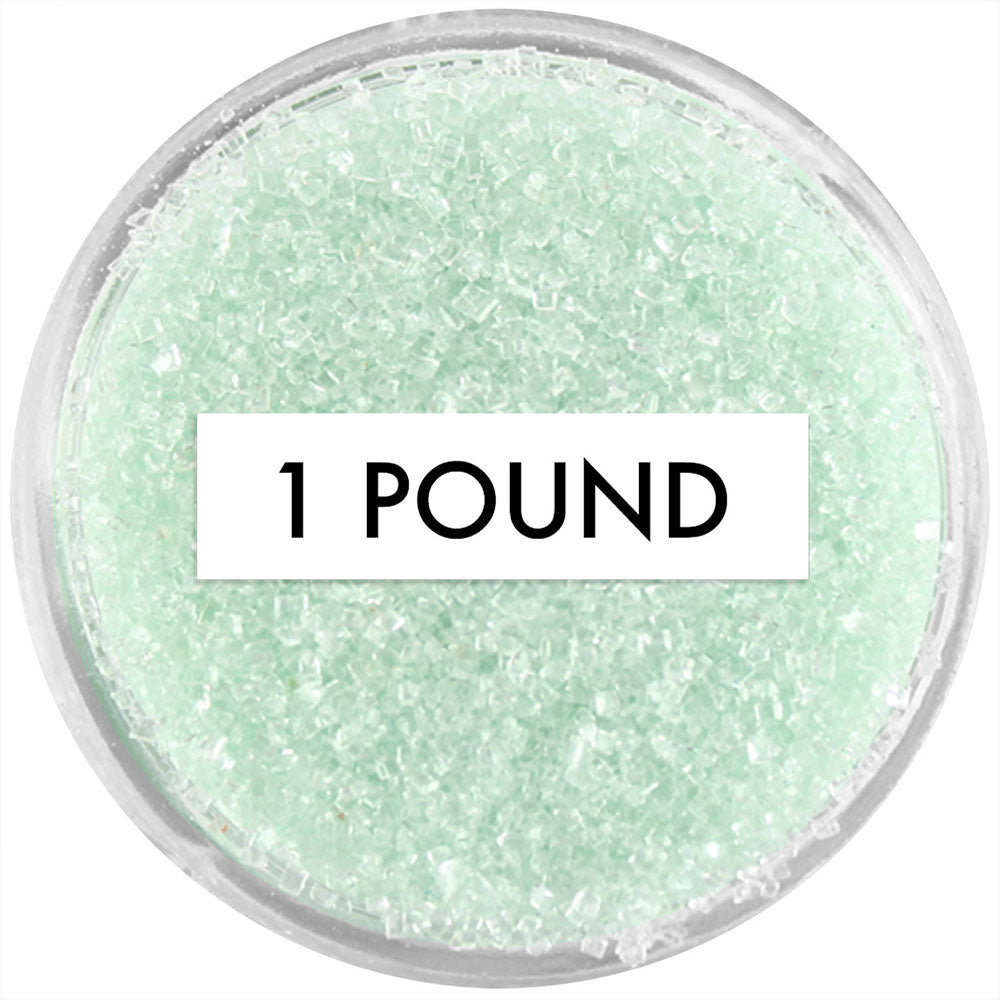 Soft Green Sanding Sugar 1 LB