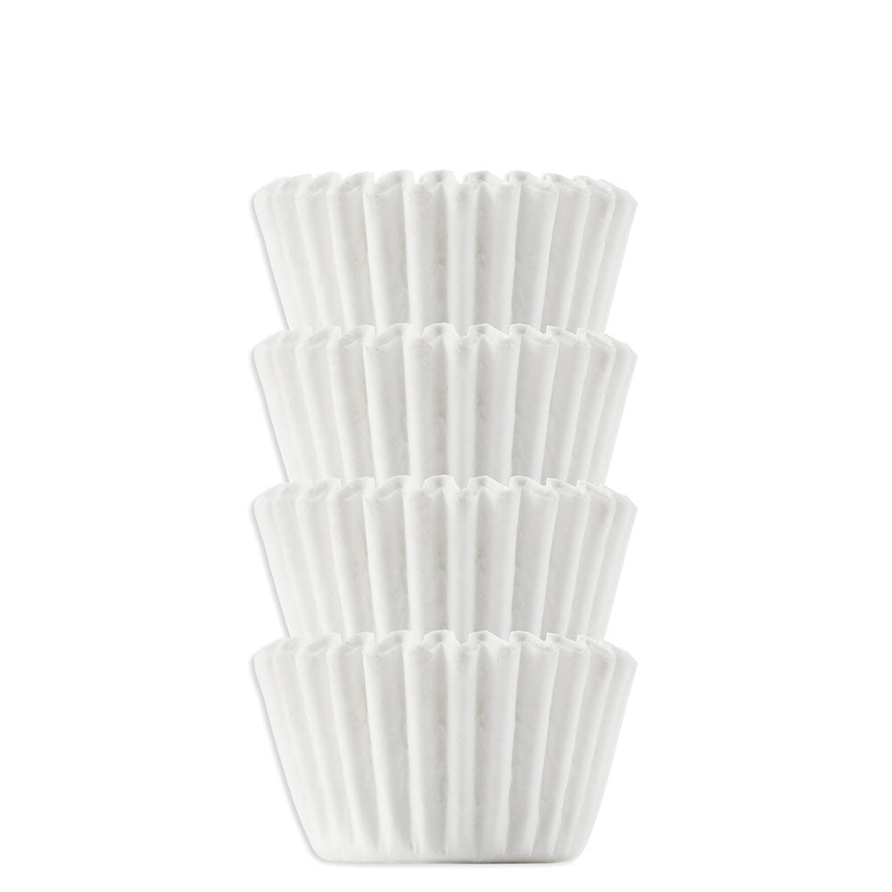 Solid White Candy Cups #4