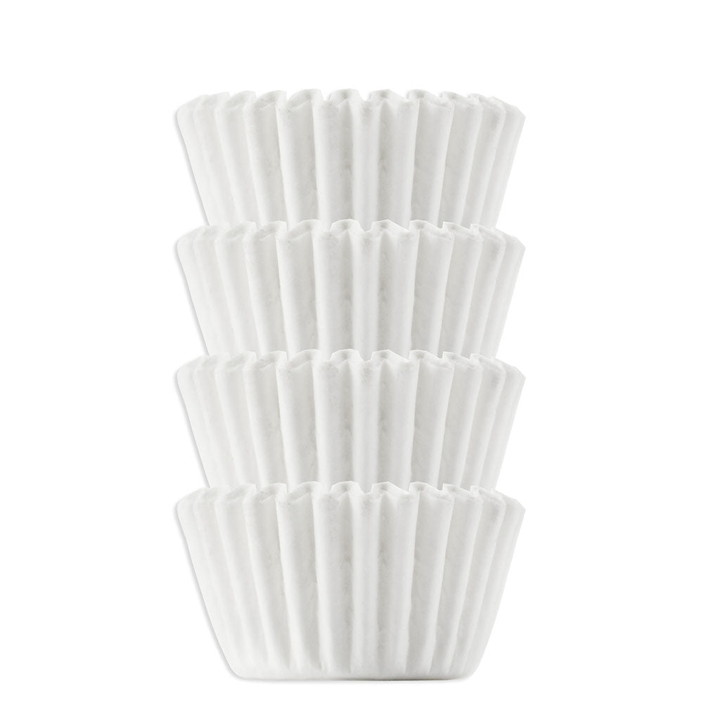 Solid White Candy Cups #6