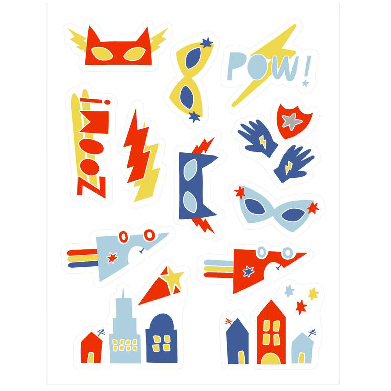 Super Hero Stickies Edible Decorating Stickers