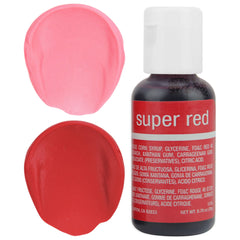 Super Red Chefmaster Gel Food Coloring