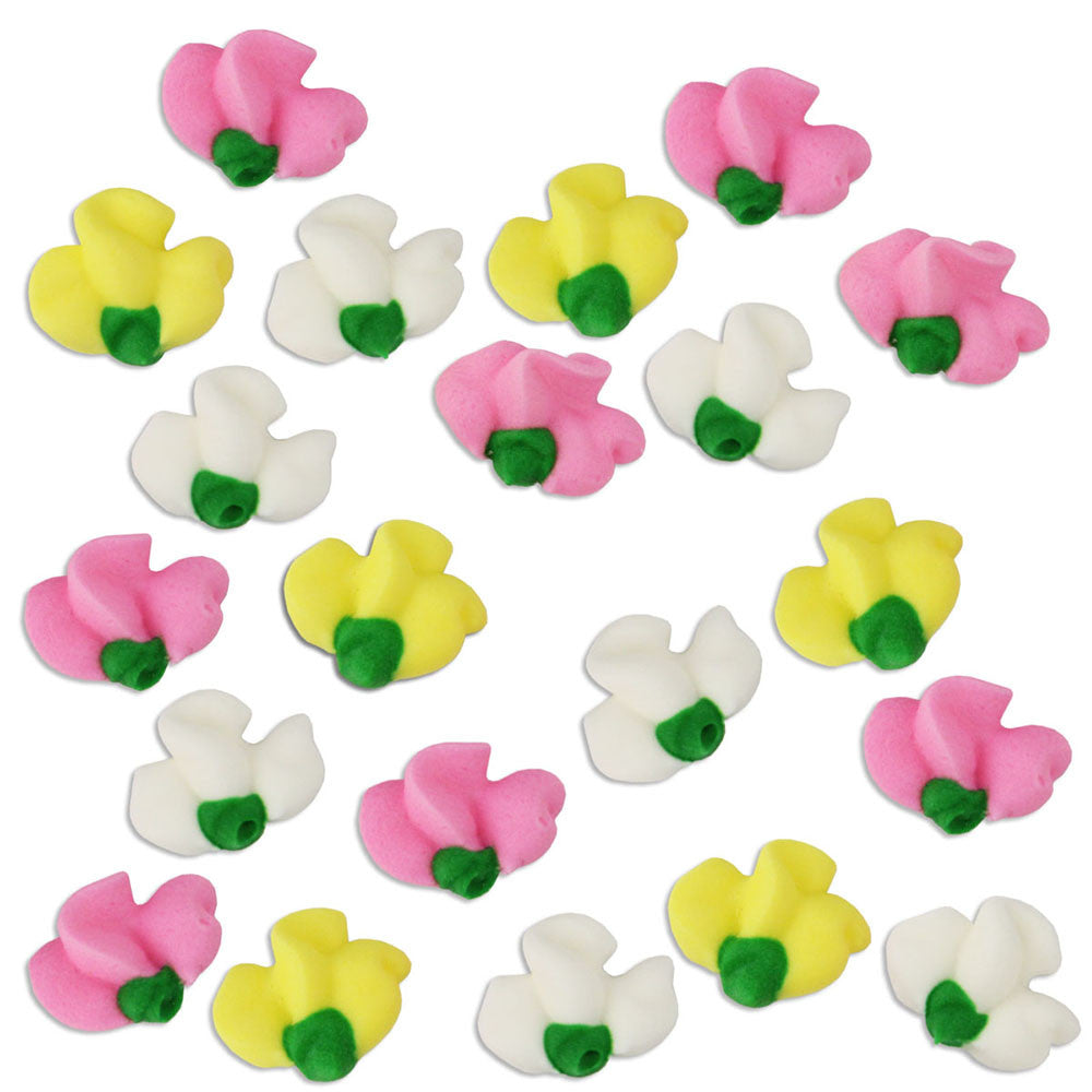 Sweet Pea Icing Flowers