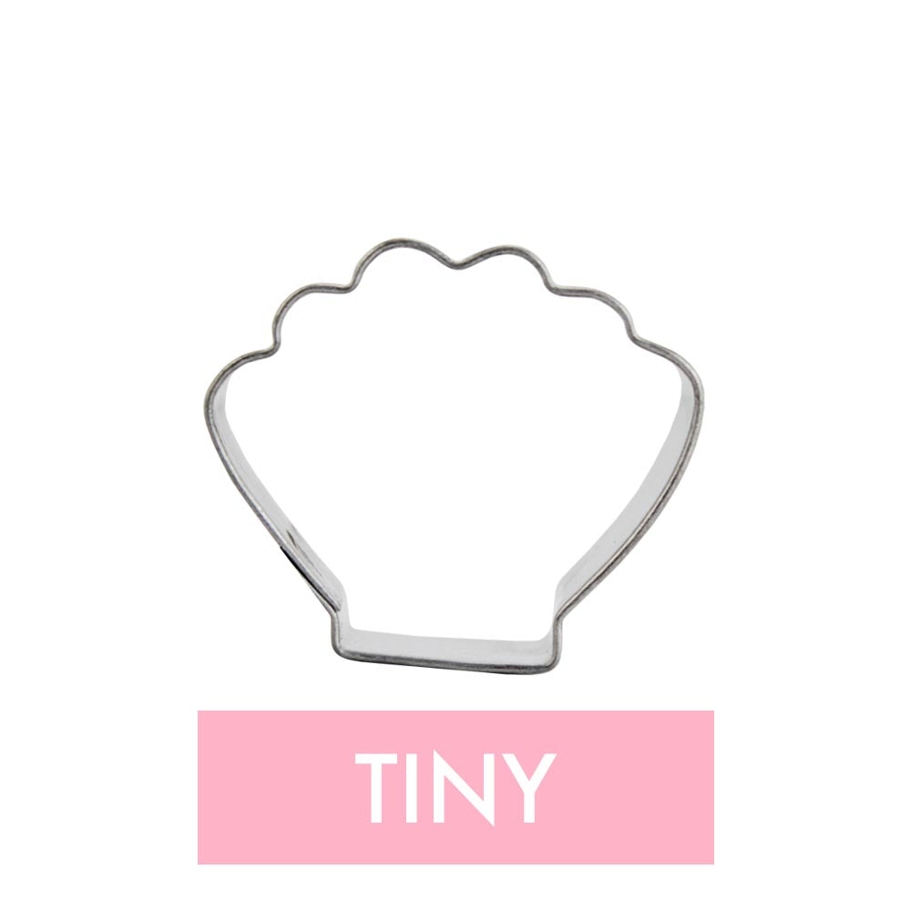 Tiny Clam Shell Cookie Cutter
