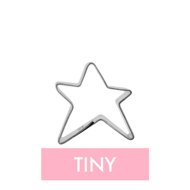 Tiny Dancing Star Cookie Cutter