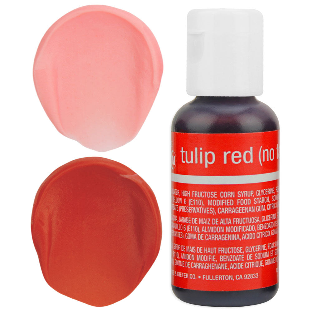 Tulip Red Chefmaster Gel Food Coloring – Layer Cake Shop