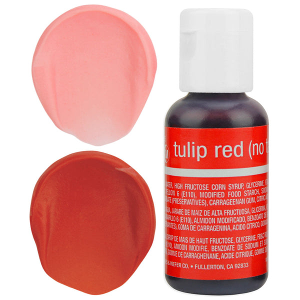 Tulip Red Chefmaster Gel Food Coloring