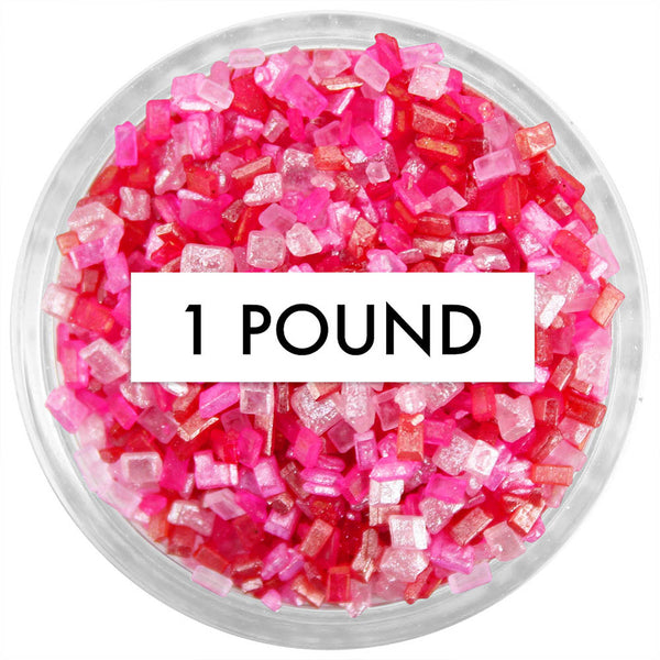 Valentines Day Chunky Sugar Blend 1 LB