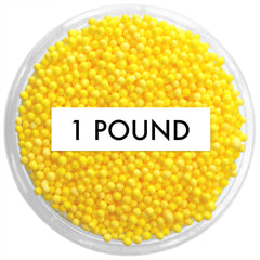 Yellow Non-Pareils 1 LB