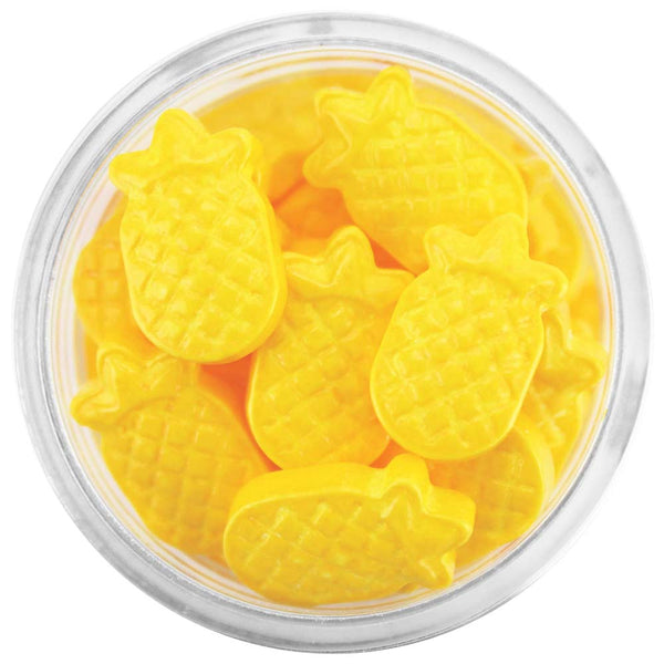 Yellow Pineapple Candy Sprinkles