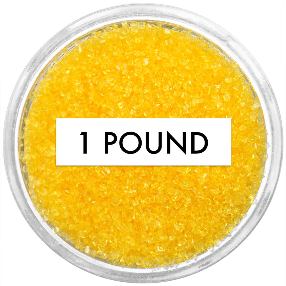 Yellow Sanding Sugar 1 LB
