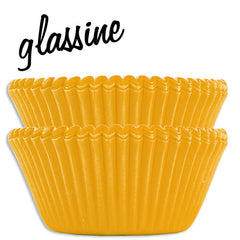 Yellow Glassine Baking Cups