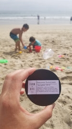 Beeswax Sunscreen + Bug repellant