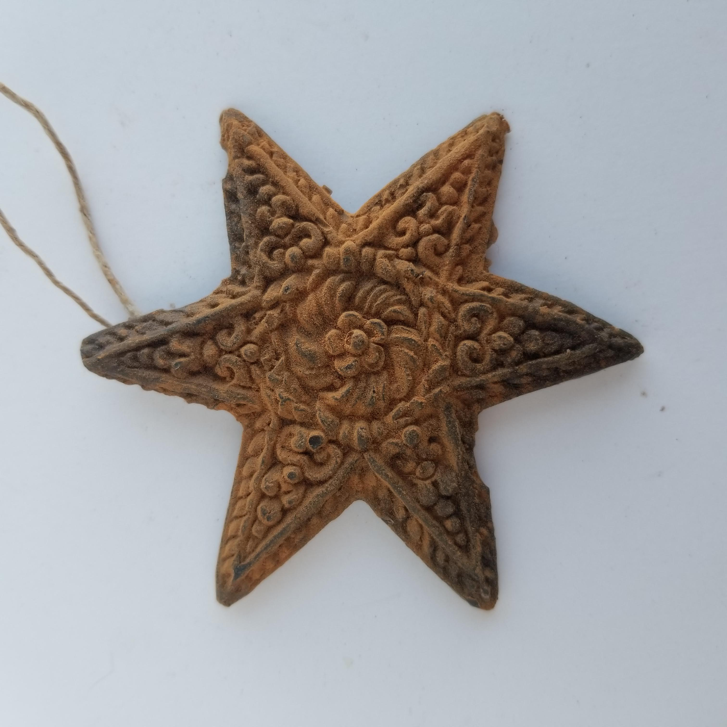 Springerele Star Ornament