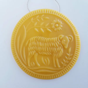 The Olde Homestead Sheep - Yellow Beeswax
