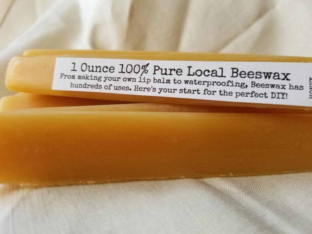 1 ounce Pure Beeswax