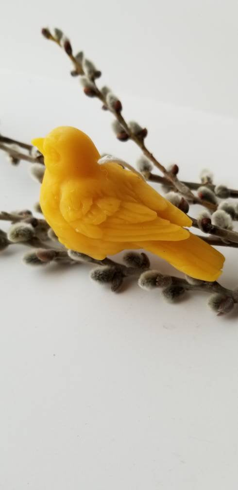 Love Bird Beeswax Candle