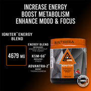 Igniter thermogenic Pre-Workout Fat Burner Powder