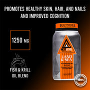 land and sea fish and krill oil supplement next level nutrition