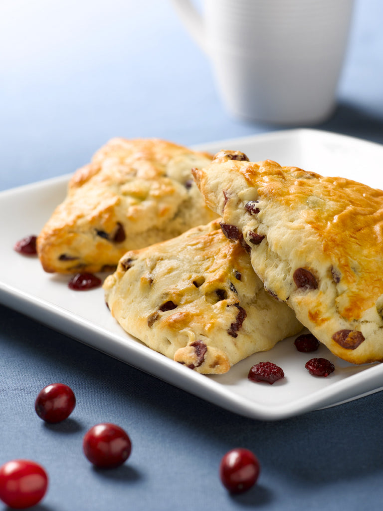 Cranberry Cream Scones 4 Pack