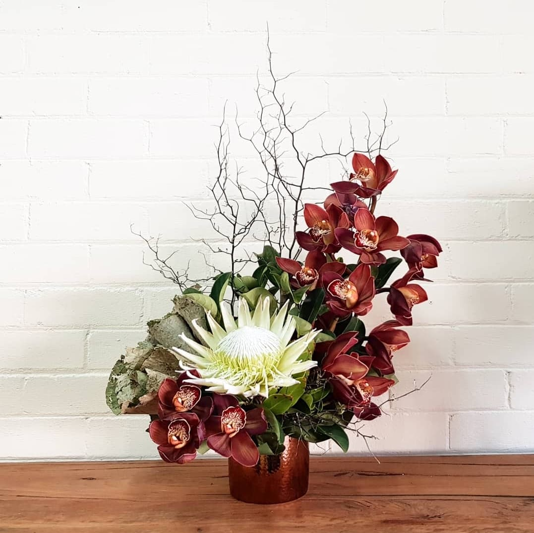 Seasonal Boxed Arrangement